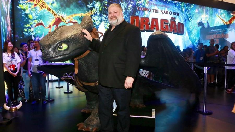 """Dean Deblois, diretor de """"Como Treinar o Seu Dragão 3"""" - Iwi Onodera/UOL"""