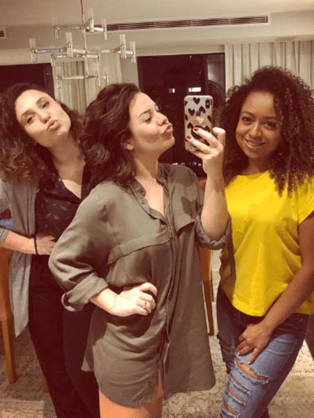 Francis Helena, Fernanda Souza e Aretha Oliveira - Reprodução/Instagram