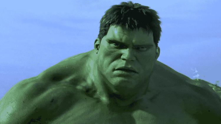 """Cena do filme """"Hulk"""" (2003) - Reprodução - Reprodução"""