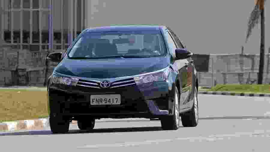 Corolla é um dos modelos convocados em campanha de recall da Toyota em 2019; vasta maioria é por airbags da Takata - Murilo Góes/UOL