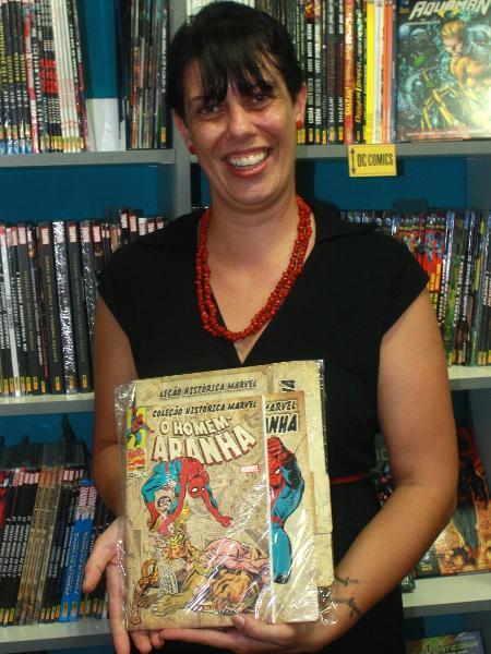Carol Pimentel, a editora-chefe da Marvel pela Panini no Brasil - Reprodução