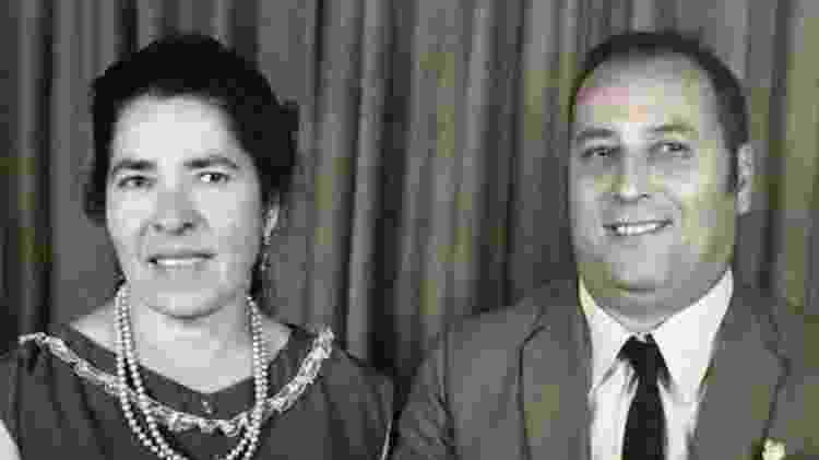 Os pais de Dirceu dos Santos tiveram um casamento de 60 anos, dos quais 30 passaram dormindo em quartos separados para preservar os gostos pessoais - Arquivo pessoal - Arquivo pessoal