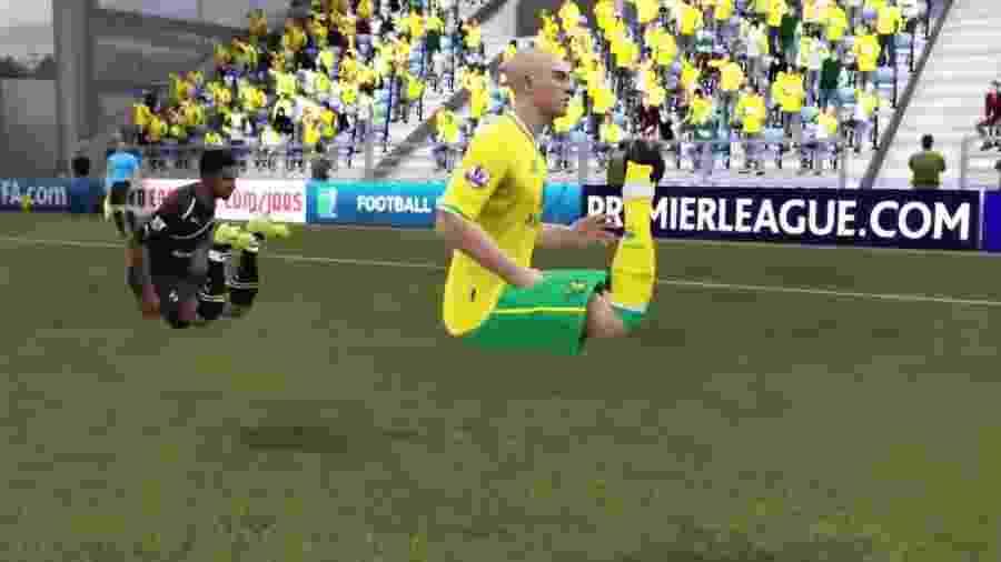Bugs FIFA - Reprodução
