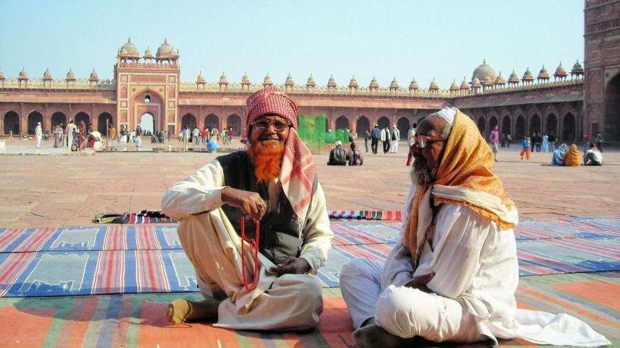 Homens muçulmanos na Índia - Marcel Vincenti/Arquivo pessoal