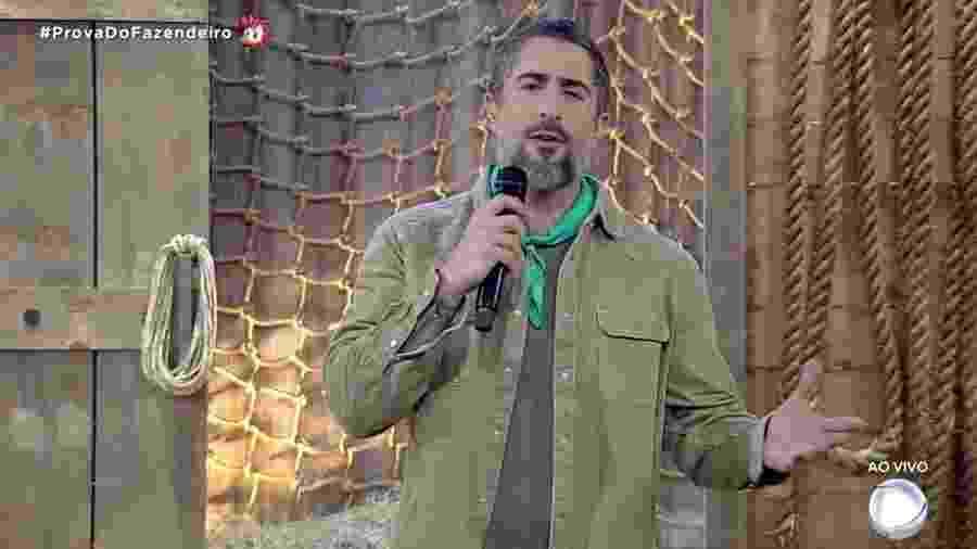 Marcos Mion apresenta noite de prova do fazendeiro em A Fazenda 2019 - Reprodução/RecordTV