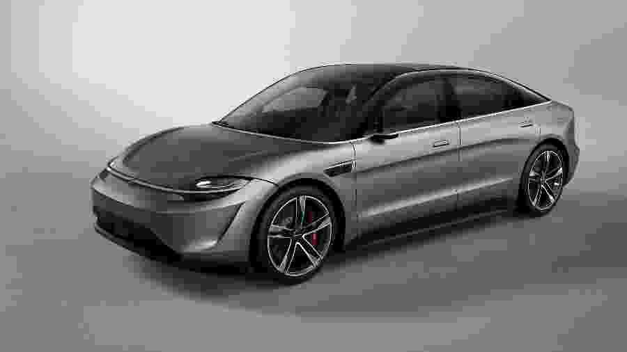 Sony surpreendeu ao exibir um protótipo de automóvel para demonstrar as tecnologias da companhia de eletrônicos - Divulgação