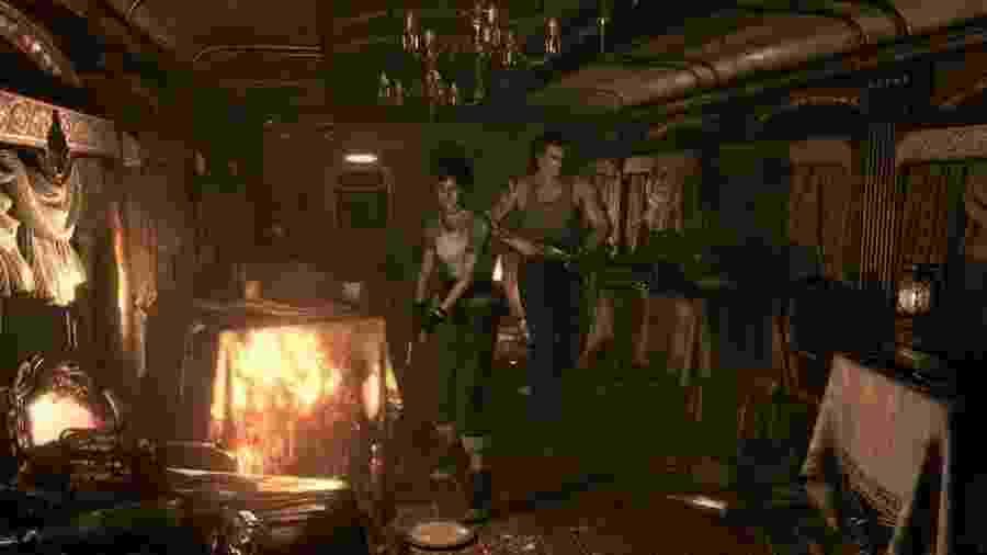 Relançamento de game de 2002 recaptura estilo clássico da franquia de horror - Divulgação