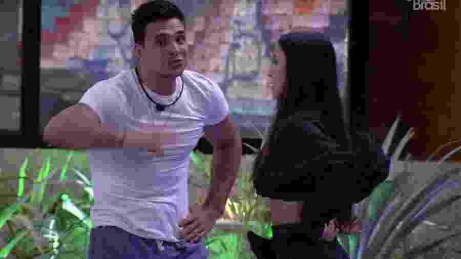 BBB 20: Petrix explica seu voto a Bianca - Reprodução/Globo