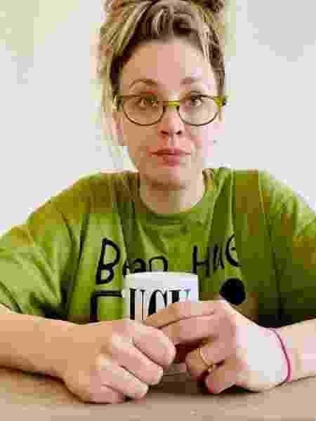 """Kaley Cuoco, de """"Big Bang Theory"""", faz diário da quarentena - REPRODUÇÃO/INSTAGRAM"""