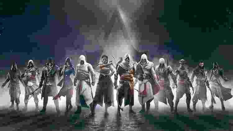 Assassin's Creed personagens - Reprodução - Reprodução