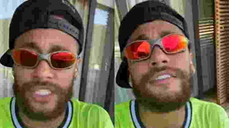 Neymar canta funk - Reprodução/Instagram - Reprodução/Instagram