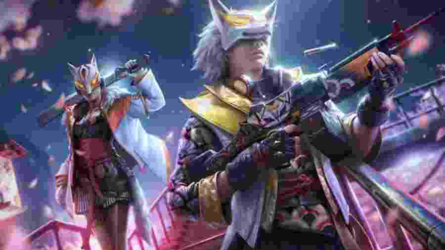 Kitsune e Koryo buscam vingança contra uma gangue corrupta no novo Passe de Elite - Divulgação/Garena