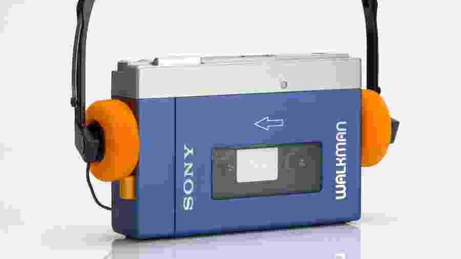 O primeiro Walkman lançado pela Sony em 1979 - Reprodução