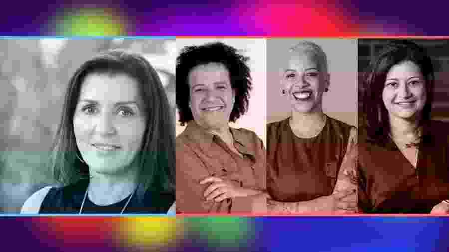 Teresa Vernaglia, Ana Fontes, Verônica Oliveira e Gal Barradas participam do segundo dia de debates - UOL