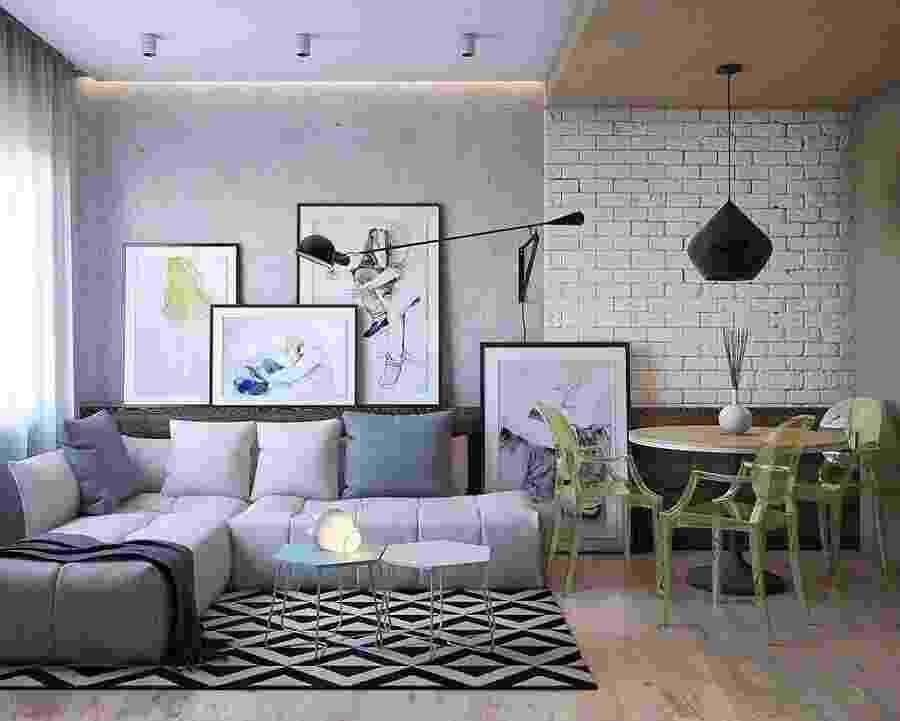 Tapete geométrico - Reprodução/Pinterest