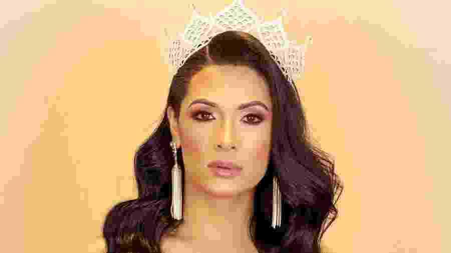Rayka Vieira é a primeira mulher trans a participar do Miss Brasil Mundo - Reprodução / Instagram