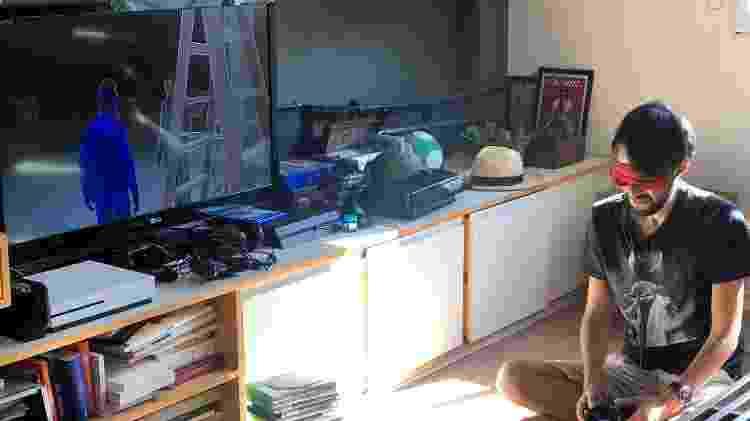 The Last of Us II com olhos vendados - João Varella/Arquivo pessoal - João Varella/Arquivo pessoal