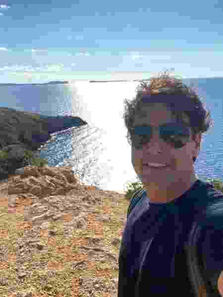 Bruno de Luca em Ibiza - Arquivo pessoal - Arquivo pessoal