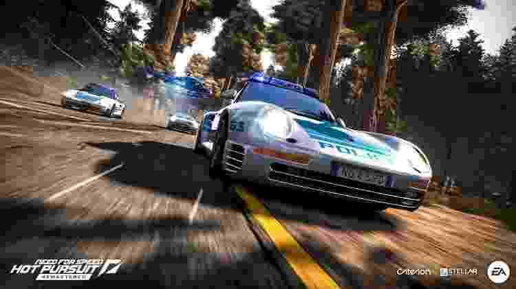 Need for Speed Hot Pursuit Remastered - Divulgação/EA - Divulgação/EA