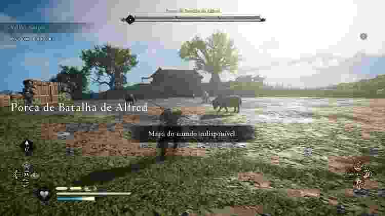 AC Valhalla Porca de Batalha de Alfred - Daniel Esdras/GameHall - Daniel Esdras/GameHall