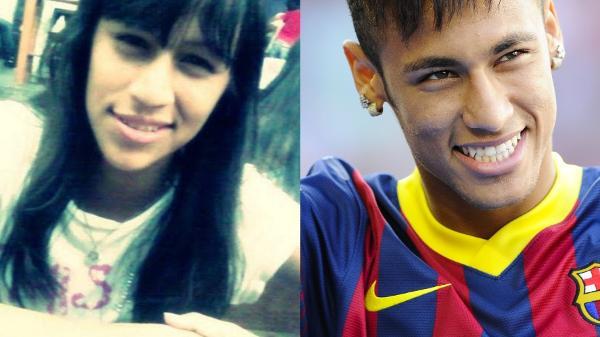 A sósia Neymara