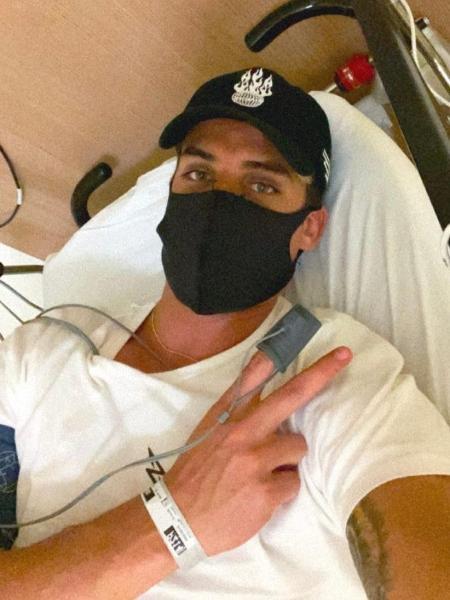 Tiago Ramos vai parar no hospital  - Reprodução/Instagram