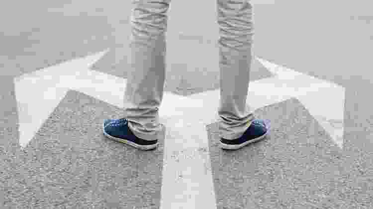 decisão; escolha; caminho - iStock - iStock