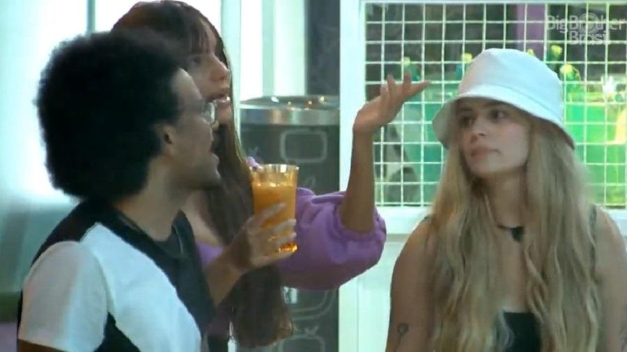 BBB 21: João Luiz e Viih Tube dão conselho a Thaís sobre Fiuk - Reprodução/Globoplay