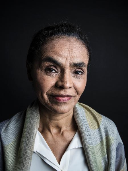 A ex-ministra Marina Silva afirma que Jair Bolsonaro é o pior presidente da história do país e comete crimes de lesa-pátria e humanidade - Lucas Lima/UOL