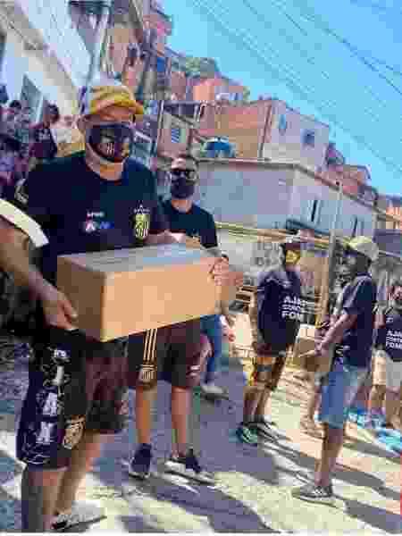 Ajax Futebol Clube ajuda comunidades em SP - Divulgação - Divulgação