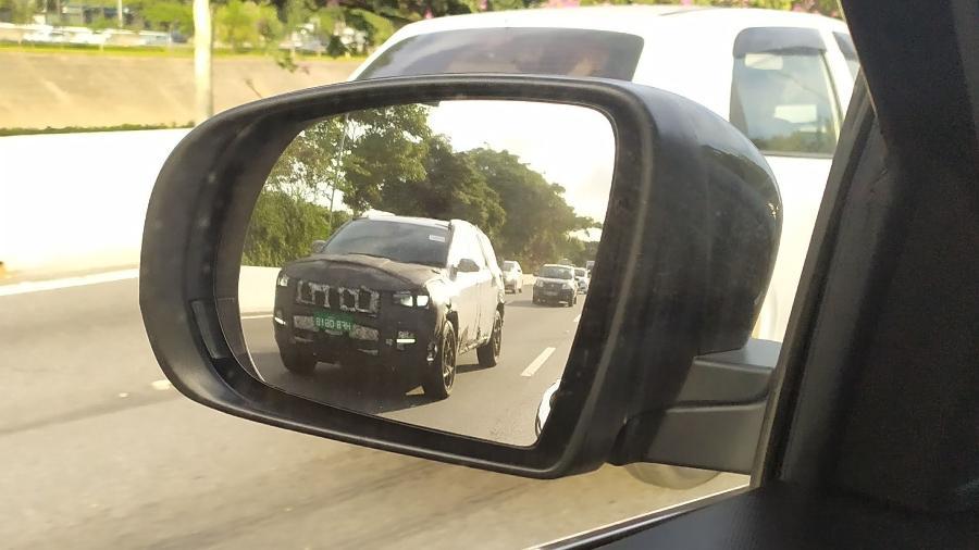 Jeep Commander flagrado em SP - José Antonio Leme
