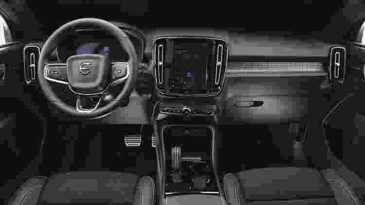 Volvo XC40 Recharge Pure Electric interior - Divulgação - Divulgação