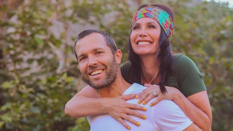 A ex-atriz pornô Channon Rose e seu marido, Travis Rose - Reprodução/Instagram