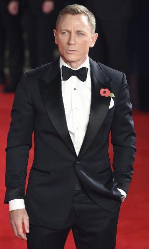 26.out.2015 - Daniel Craig, o James Bond de