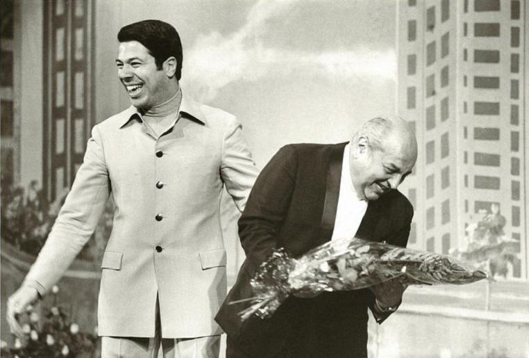 Silvio Santos e Manuel de Nóbrega