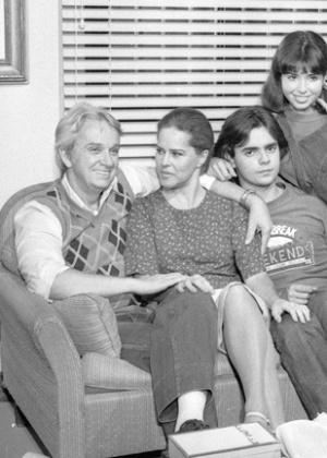 """Ivan Cândido (o primeiro à esquerda) trabalhou em """"Elas por Elas"""" sucesso da Globo na década de 1980 - Divulgação"""