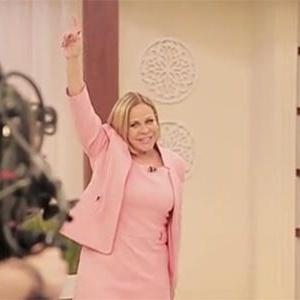A veterana Claudete Troiano é uma das estrelas da TV Aparecida
