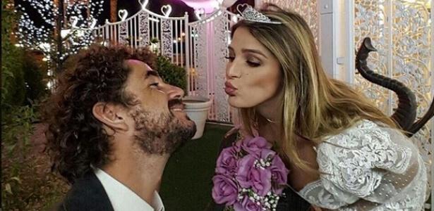 """""""Caso contigo de novo todo dia se for possivel"""", disse Andreoli para Rafa Brites - Reprodução/Instagram"""
