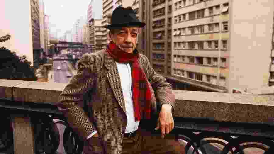 Adoniran Barbosa, um dos mais importantes nomes do samba de São Paulo e do Brasil - Reprodução