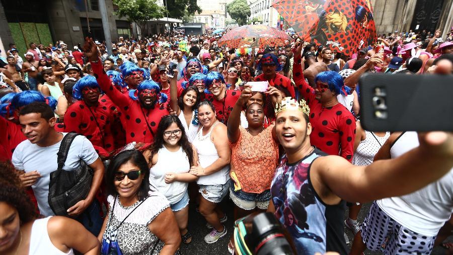 Cordão da Bola Preta promete lotar ruas do centro do Rio também em 2018 - Wilton Junior/Estadão Conteúdo