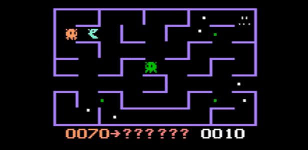 """""""Come-Come!"""" foi um dos games mais populares do Odyssey e copiava descaradamente """"Pac-Man"""", sucesso da Namco no início da década de 1980 - Reprodução"""