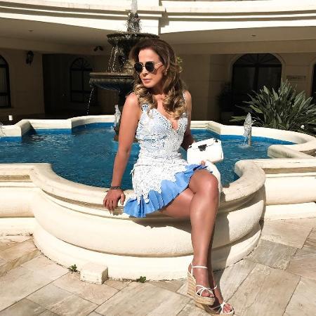 Zilu Camargo dá bom dia para seguidores - Reprodução/Instagram