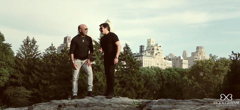 """Rick e Giovani gravam clipe de """"Sonhar Com Você"""" em Nova York - Reprodução"""