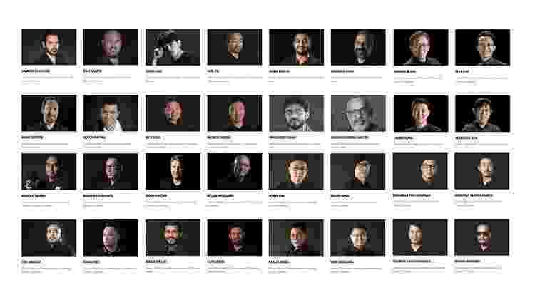 O time de fotógrafos escolhido pela Nikon - Reprodução