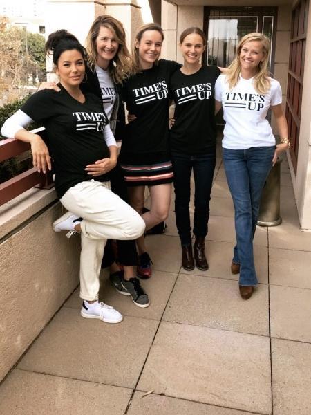 Eva Longoria, Laura Dern, Brie Larson, Natalie Portman e Reese Witherspoon - Reprodução/Instagram