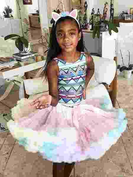 Laura, filha de Gloria Maria, pronta para o Carnaval - Reprodução/Instagram