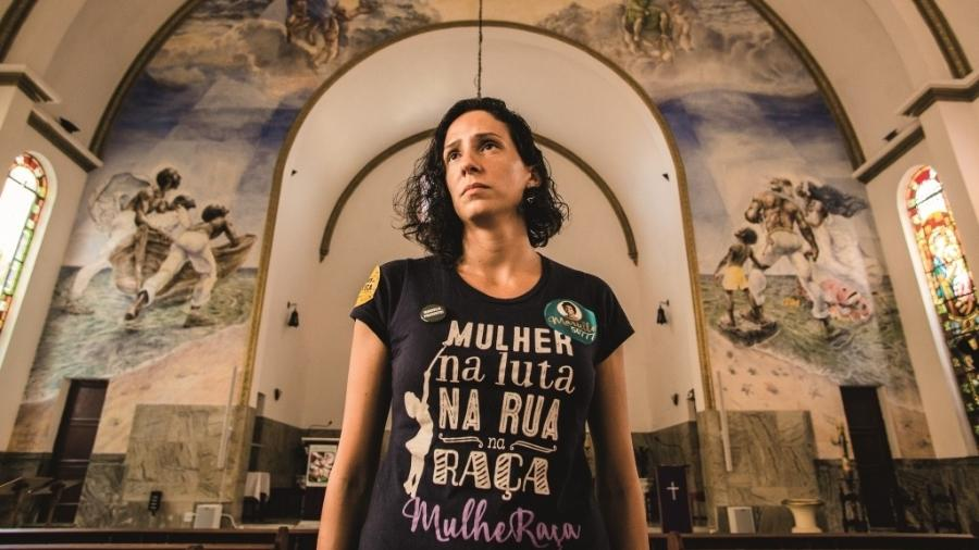 Monica Tereza Azeredo Benicio, viúva da vereadora Marielle Franco - AF Rodrigues/Claudia