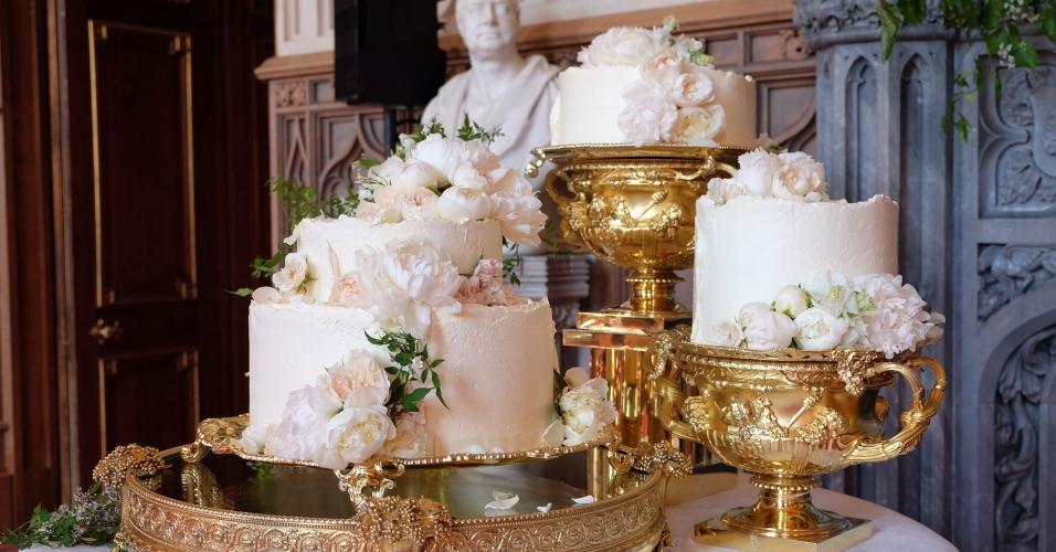 Bolo do casamento de Harry e Meghan