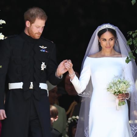 Príncipe Harry homenageou Diana no buquê de Meghan Markle - Jane Barlow - WPA Pool/Getty Images