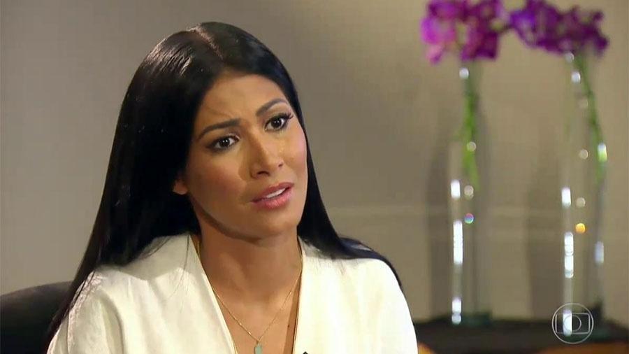 Simaria chora ao falar da doença que a afastou dos palcos - Reprodução/TV Globo